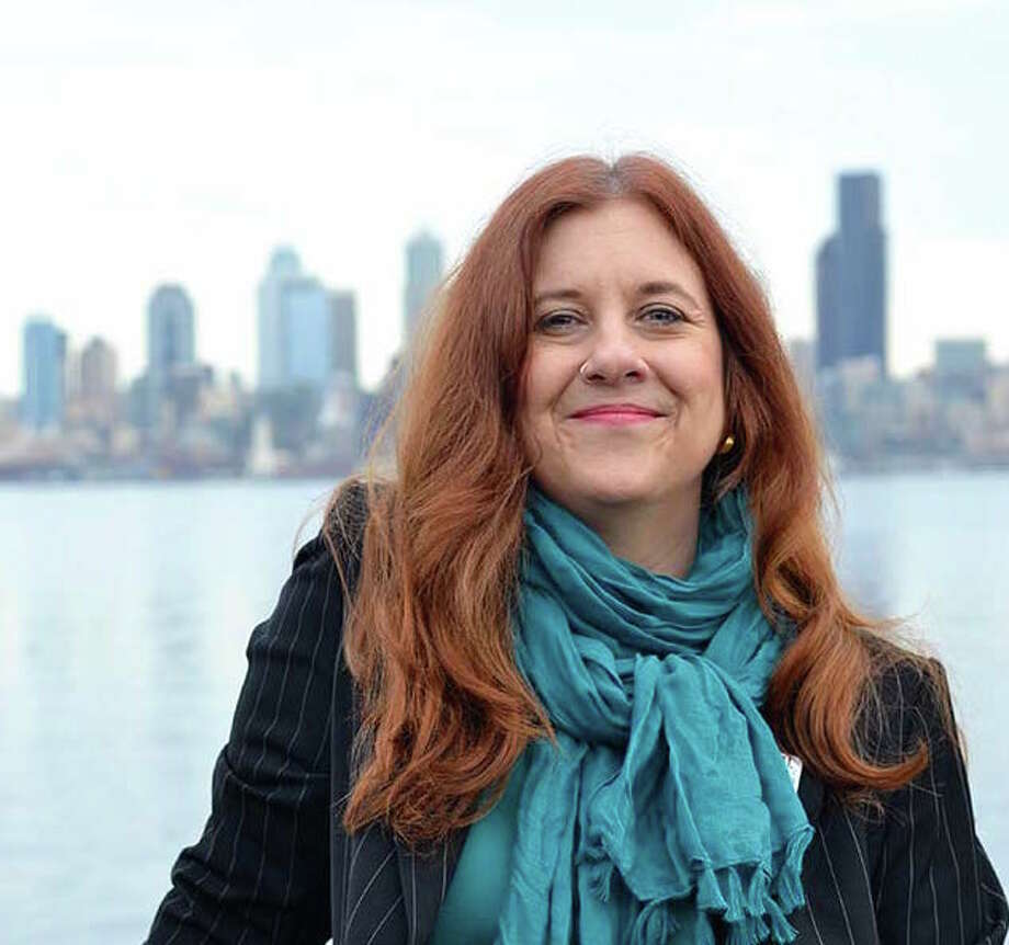 She has reason to smile:  Seattle City Council member Lisa Herbold, attacked in the primary, has built a 16-point lead over business-backed challenger Philip Tavel.