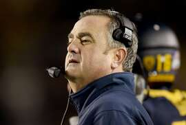 BERKELEY, CA - NOVEMBER 28:  Head coach Sonny Dykes of the California Golden Bears looks on from the sidelines against the Arizona State Sun Devils during the first half of their NCAA football game at California Memorial Stadium on November 28, 2015 in Berkeley, California.  (Photo by Thearon W. Henderson/Getty Images)