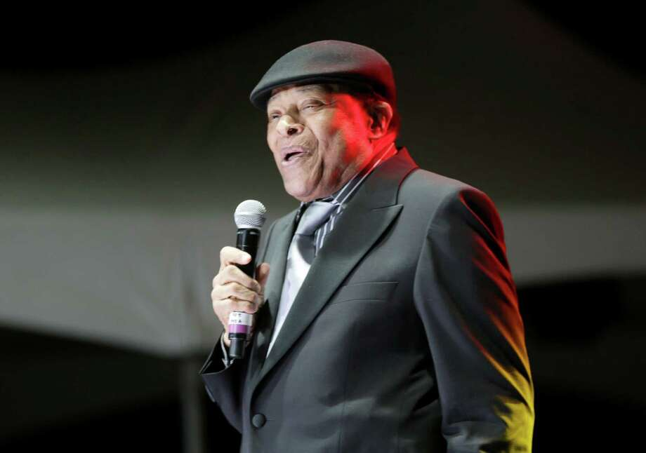 Al Jarreau performs at the 96th Annual Mayor's Holiday Celebration and Tree Lighting at Hermann Square Park, Friday, Dec. 4, 2015, in Houston. Photo: Jon Shapley, Houston Chronicle / © 2015 Houston Chronicle