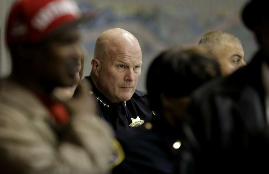 San Francisco Police Chief Greg Suhr listens to comments during a town hall meeting on Dec. 4, to discuss the officer-involved shooting of 26-year-old Mario Woods. Photo: Michael Macor, The Chronicle