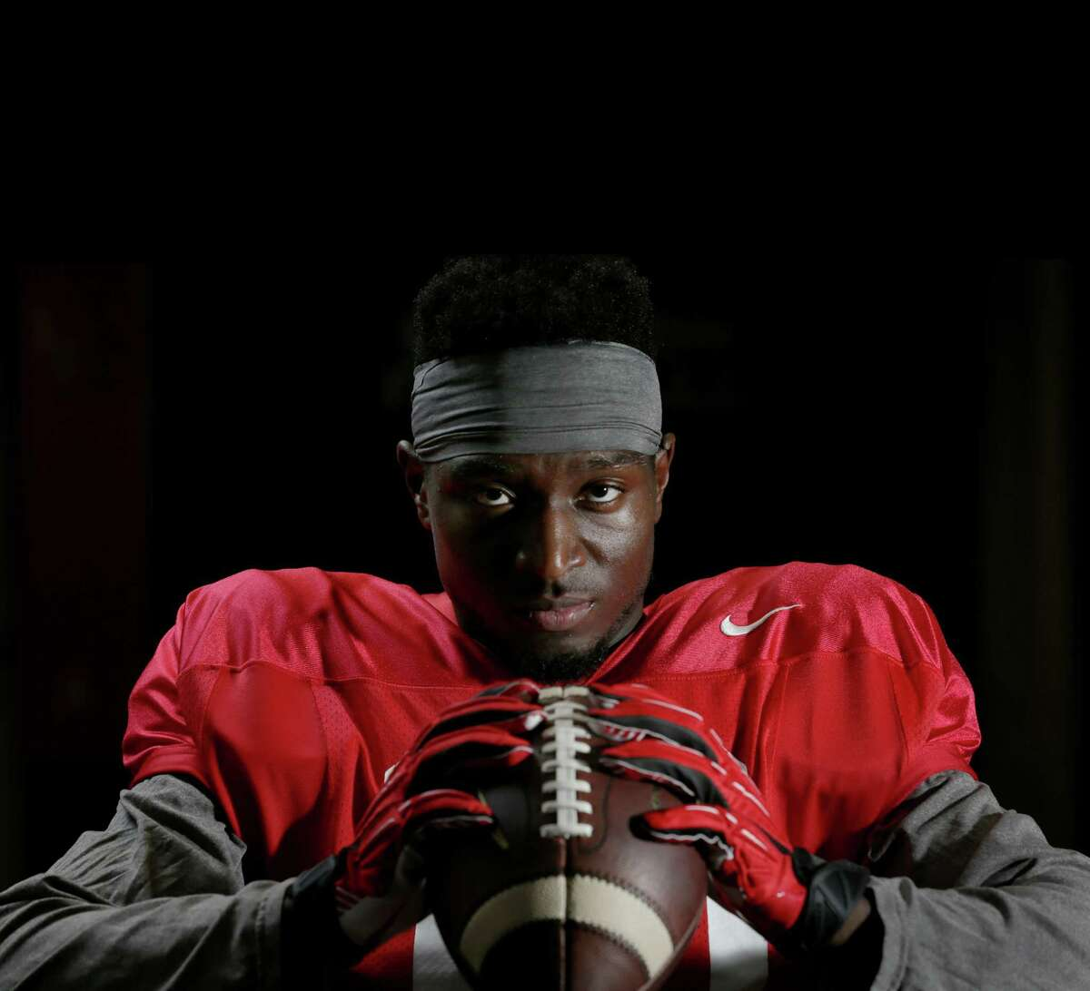 UH wide receiver Demarcus Ayers' big season - 89 catches, 1,140 yards, six touchdowns - wouldn't have happened if he had carried out his plan to transfer to TCU.