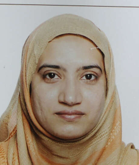This undated photo provided by the FBI shows Tashfeen Malik. Malik and her husband, Syed Farook, died in a fierce gunbattle with authorities several hours after their commando-style assault on a gathering of Farook's colleagues from San Bernardino, Calif., County's health department Wednesday, Dec. 2, 2015. (FBI via AP) Photo: AP / FBI