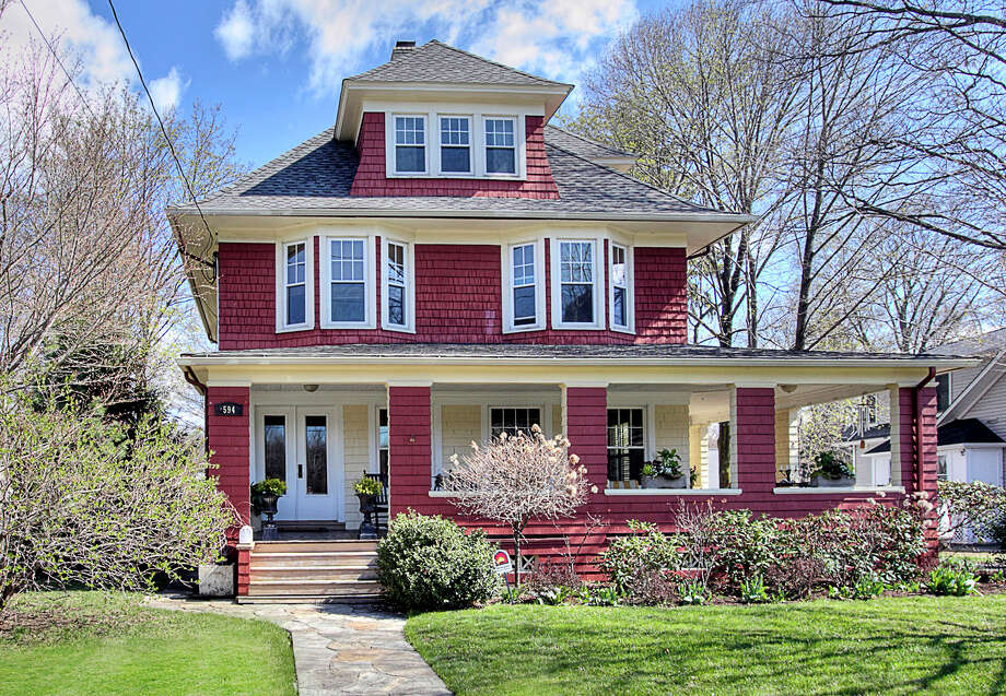 The property at 594 Stratfield Road is on the market for $635,000. Photo: Contributed Photo / Fairfield Citizen