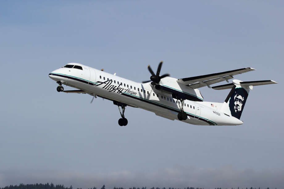 Passengers were unaware the deer had been struck, an airline official said. Photo: Alaska Airlines / Dex Images 2011