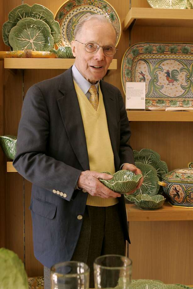 Williams-Sonoma founder Chuck Williams is seen in a file photo from Sept. 2005 in San Francisco. Photo: Liz Hafalia, The Chronicle