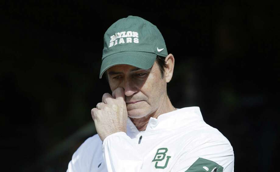 Baylor fired head coach Art Briles on Thursday, according to reports.Browse through the photos to see Art Briles through the years. Photo: LM Otero, Associated Press / AP