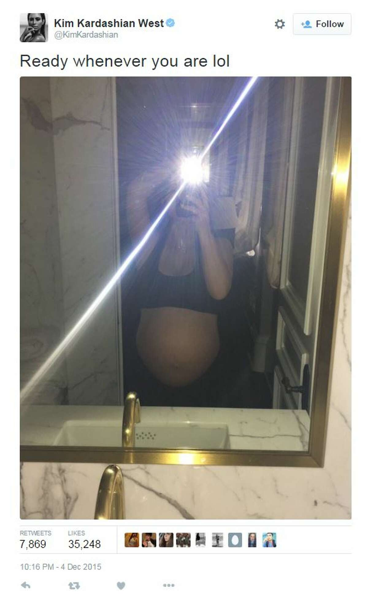 Kim Kardashian gave birth to a healthy baby boy, her second child with rapper Kanye West.