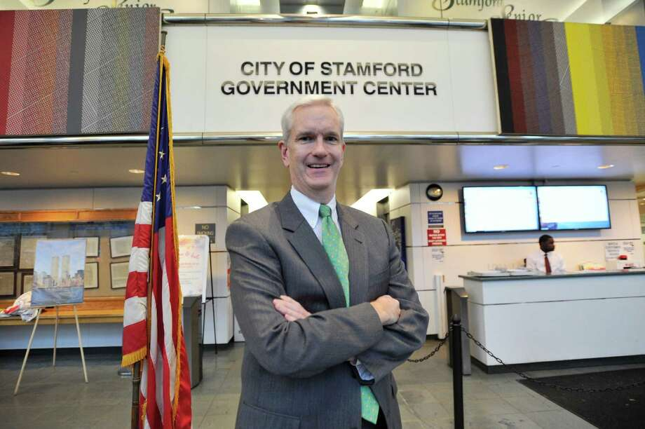 Connecticut Supreme Court Justice Andrew McDonald, the first openly gay justice in Connecticut, was chosen as the grand marshal of Stamford's St. Patrick's Day parade. Photo: Michael Cummo / Hearst Connecticut Media / Stamford Advocate