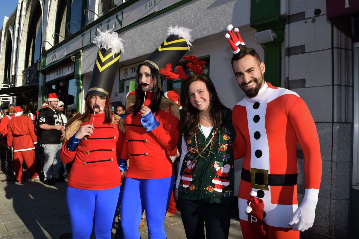 Stamford was taken over by Santas on December 5, 2015. Were you SEEN at Stamford SantaCon?