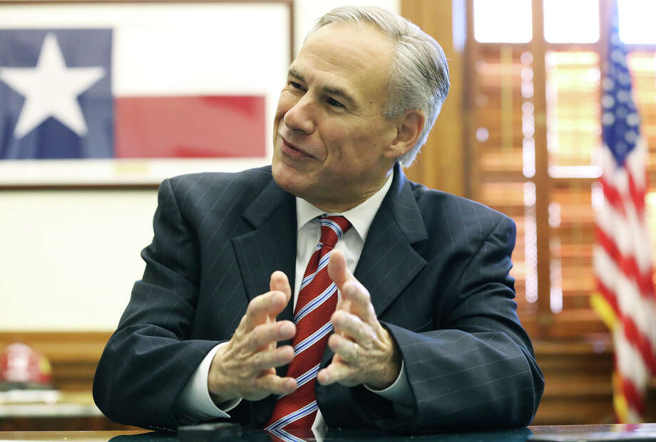 Governor Greg Abbott explains his stance on immigration regarding the Syrian refugees during an interview in his office on December 4, 2015. Photo: TOM REEL, STAFF / SAN ANTONIO EXPRESS-NEWS / 2015 SAN ANTONIO EXPRESS-NEWS