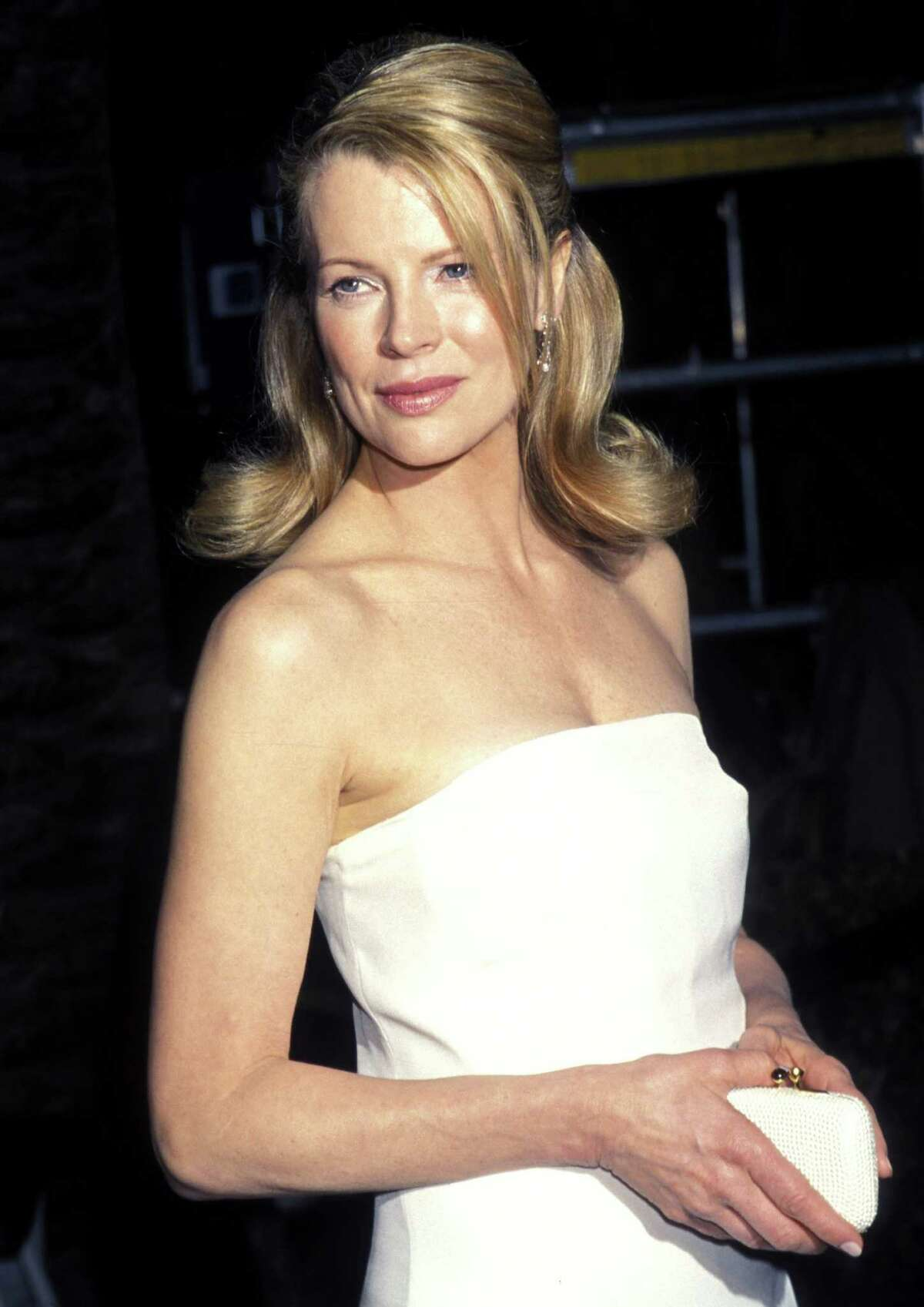 Actress Kim Basinger, born in Georgia on Dec. 8, 1953, has an Oscar to her credit and a long list of solid roles in popular films. This photo was taken March 21, 1999 at an Academy Awards after party.