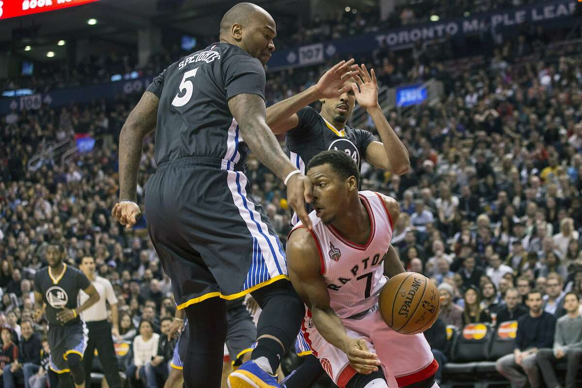 Dec. 5: Warriors 112, Raptors 109 in Toronto The Warriors stole a win over the Toronto Raptors with Stephen Curry having a 44-point night in the familiar Toronto stadium. Raptors forward Kyle Lowry narrowly followed with a career-high 41-point game.