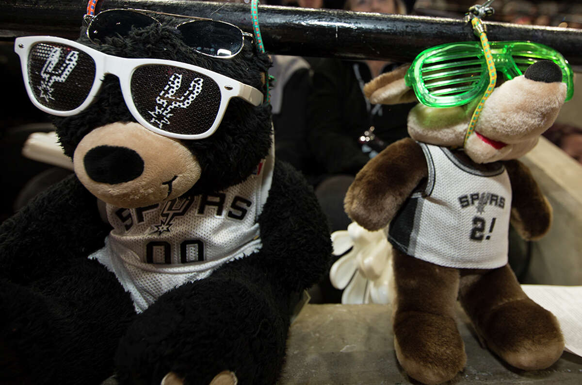 It was a close one for the Spurs Saturday, Dec. 5, 2015, at the AT&T Center as they just barely put down the Boston Celtics 108-105. Here is a look at the fans who cheered on the boys in Silver and Black.