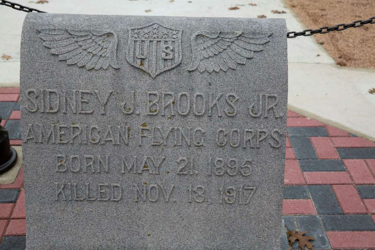 Sidney Johnson Brooks Jr. initially was buried in Alamo Masonic Cemetery. His remains were reinterred at Brooks AFB.