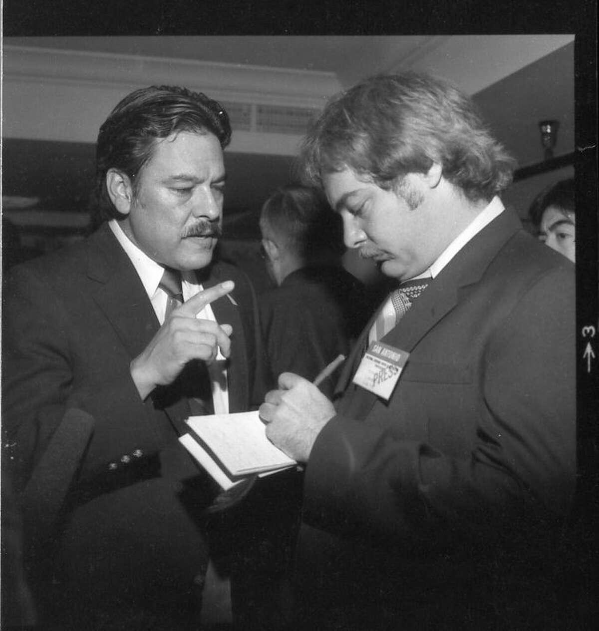 The late Willie Velasquez, founder and president of the Southwest Voter Registration Education Project, Photo courtesy of SVREP