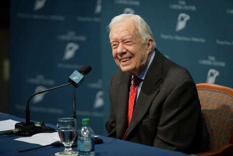 Former President Jimmy Carter talked about his cancer diagnosis in August.