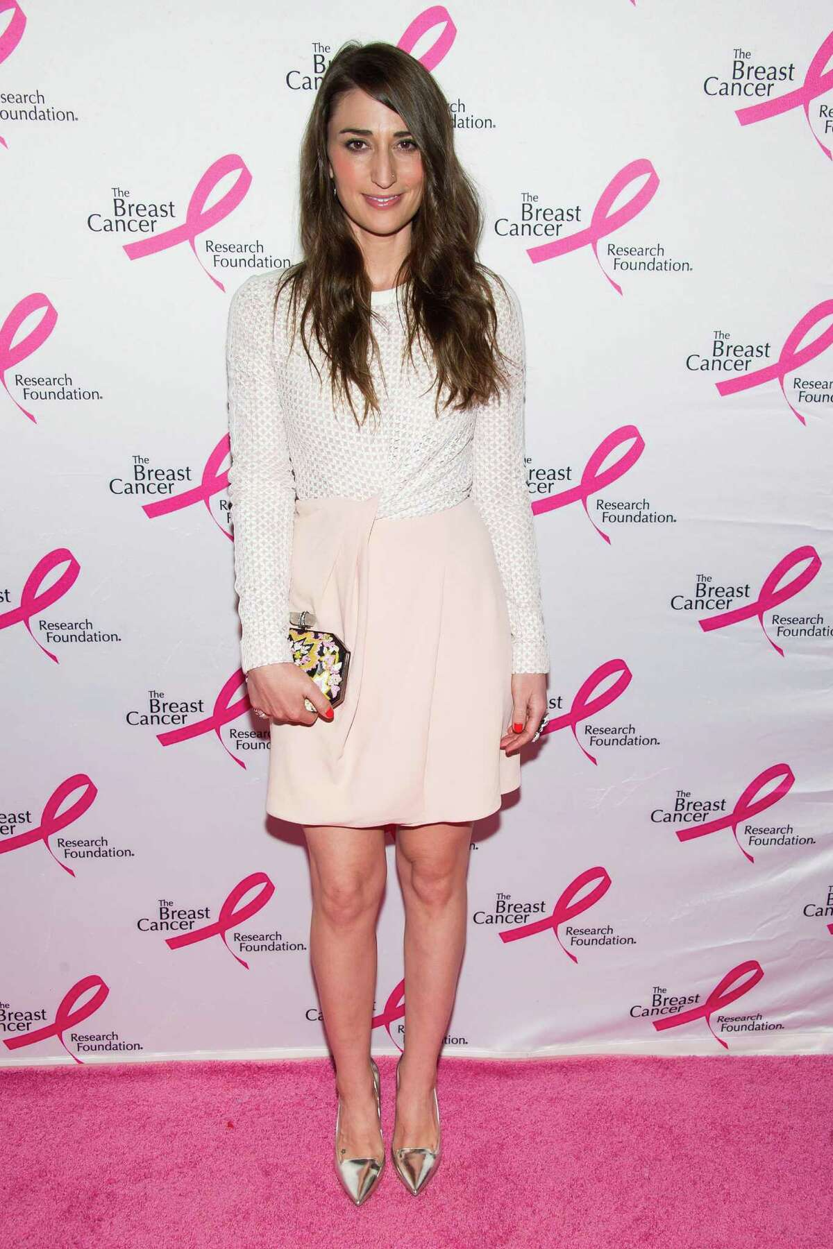 Sara Bareilles attends the Breast Cancer Research Foundation Hot Pink Party on Monday, April 28, 2014 in New York. (Photo by Charles Sykes/Invision/AP) ORG XMIT: NYCS106
