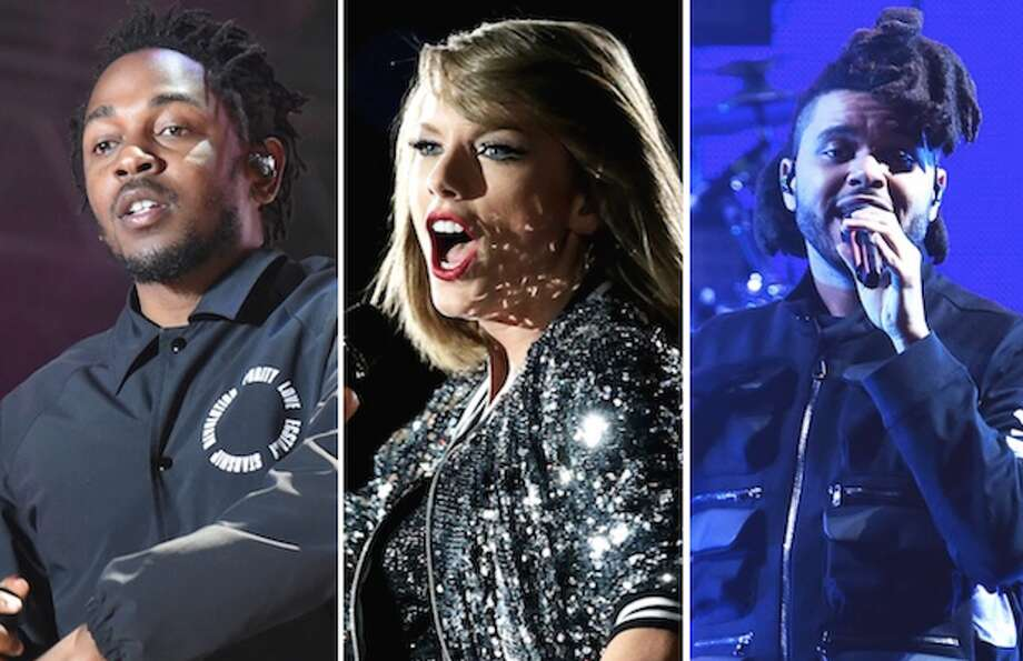 Kendrick Lamar, Taylor Swift and The Weeknd are up for GRAMMYs this year. Click through the images to see the rest of the nominees.