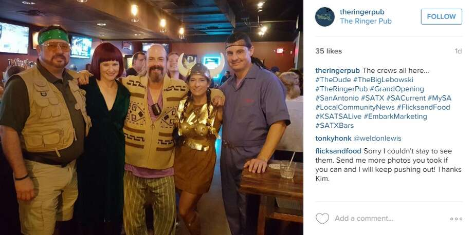 The Ringer Pub, a Big Lebowski-themed hangout, hosted its grand opening on Dec. 5, 2015. Photo: Instagram.com/Twitter.com