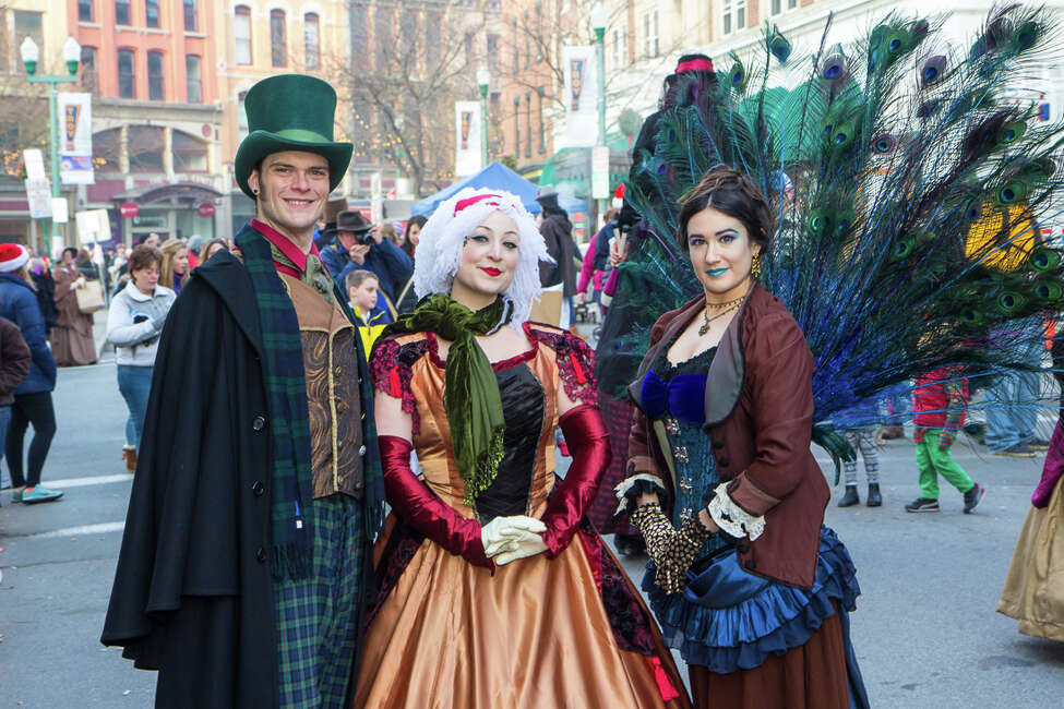 The Victorian Stroll. The Northeast's largest free holiday festival with more than 100 live performances throughout the day! Finish your holiday shopping at the more than 35 clothing, jewelry and gift boutiques throughout downtown and eat, drink and be merry at dozens of cafes, restaurants and food vendors in Monument Square. When and where: In Troy on Sunday, Dec. 4 and Saratoga Springs on Thursday, Dec. 1. Click here for more information.