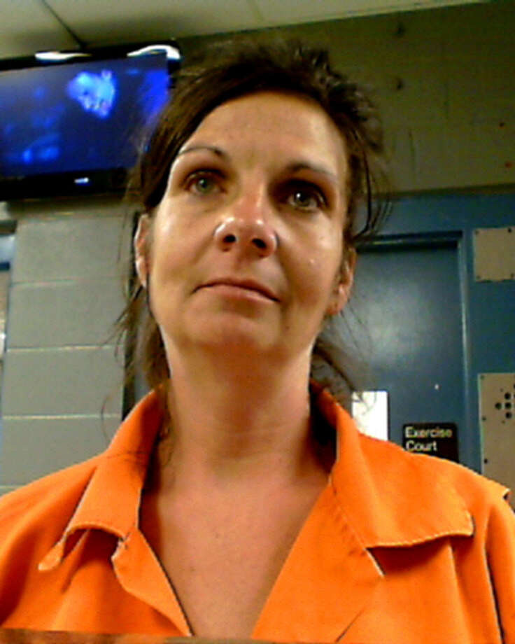Felicia M. Leleux, 45, of Evadale, is wanted for possession of a controlled substance. Photo: Courtesy Of Jasper Co. Sheriff's Office