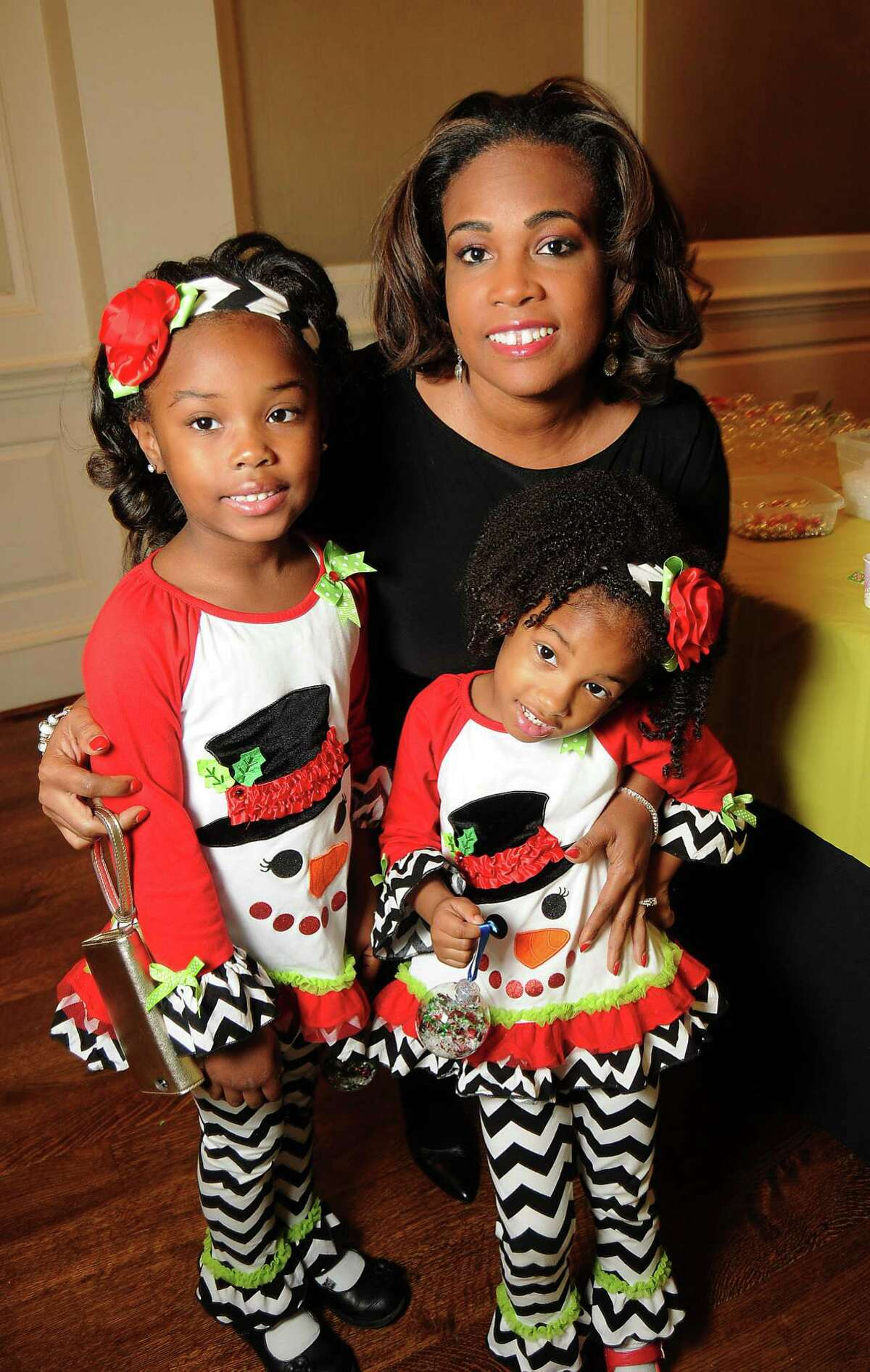 Porsha Hicks and her daughters Racheal,5, and Reagan,3.