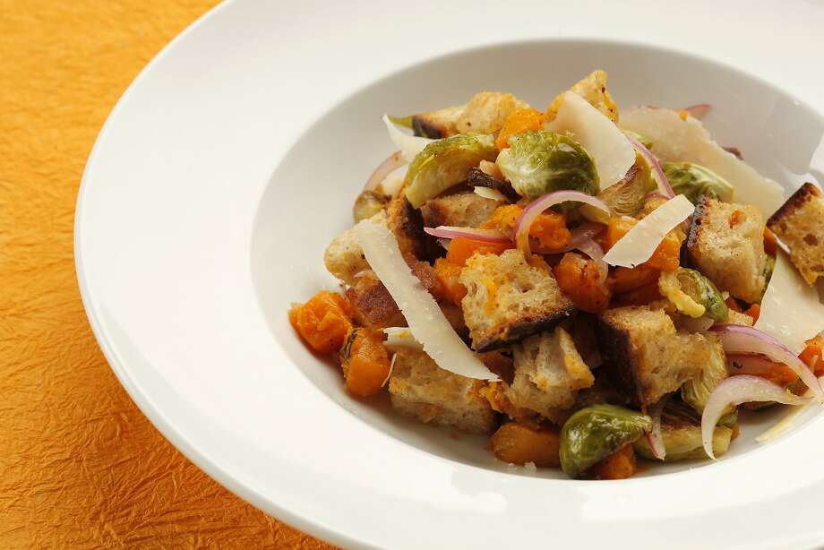 Roast Vegetable Panzanella With Lemon Brown Butter Vinaigrette Photo: Craig Lee, Special To The Chronicle