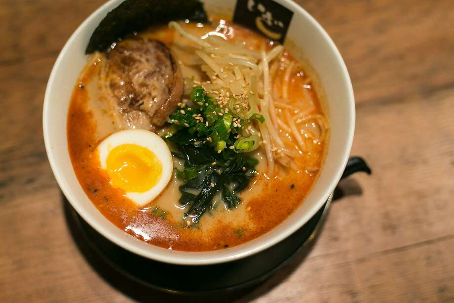 Iza Ramen offers a spicy ramen bowl at their restaurant at Fillmore and Haight in San Francisco. Photo: Jen Fedrizzi, Special To The Chronicle