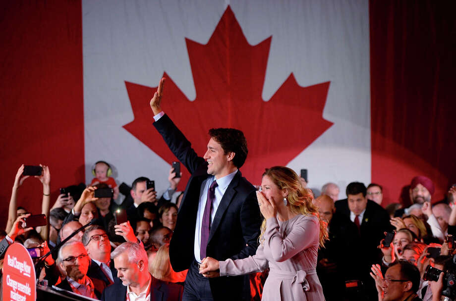 "Canada's Liberal Party leader Justin Trudeau set off controversy in 2013 when he told a Kelowna, B.C., audience:  ""I actually do not favor decriminalization:  I favor legalization of marijuana.""   Trudeau is now Prime Minister, and plans to introduce legislation that would legalize and regulate marijuana, with the goal of having it in effect by Canada Day, July 1.  Photo: Sean Kilpatrick, AP / The Canadian Press"