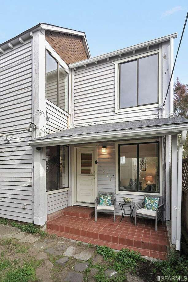 Smallest house on the smallest lot in San Francisco? An 840-square-foot, two-level home that occupies a 644-square-foot lot in the city's Sutro Heights neighborhood just might be, according to listing agent Heather Stoltz. The two-bedroom cottage sold for $61,000 over asking in Jan. 2016. Photo: Open Homes Photography