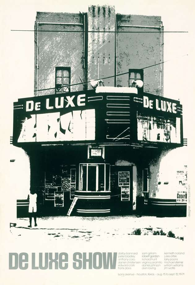 A historic image of the DeLuxe Theater. Photo: Courtesy Of Smith Co. Architects