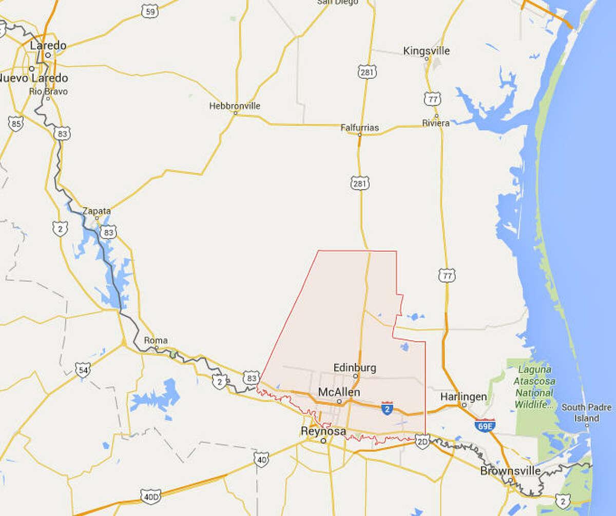 No. 18: Hidalgo County Population growth rate, 2009-2014: 15 percent According to:U.S. Census Bureau