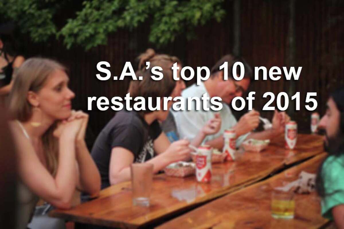These 10 restaurants hit the ground running this year, and quickly established themselves as must-visit destinations on San Antonio's culinary scene.