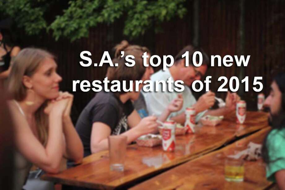 These 10 restaurants hit the ground running this year, and quickly established themselves as must-visit destinations on San Antonio's culinary scene. Photo: San Antonio Express-News / 2015 Richard Canfield / Native Creation