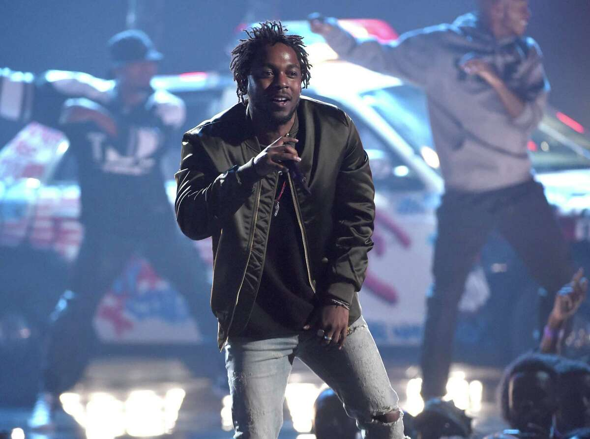 Kendrick Lamar performed an inspired show to an excited crowd at SPAC Saturday June 9, 2018. Chris Pizzello/Invision