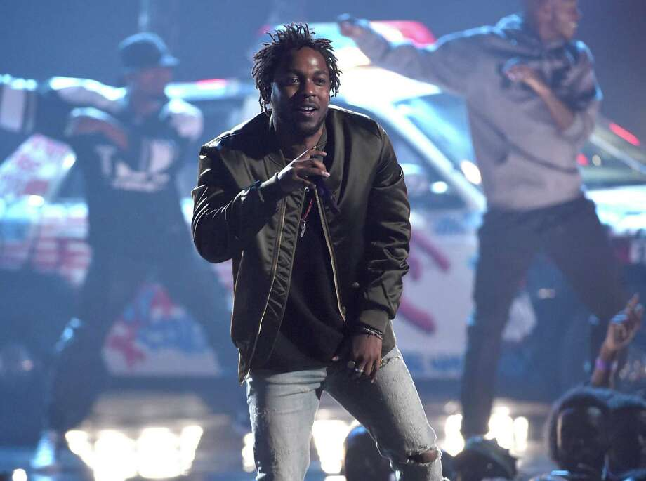 Kendrick Lamar performed an inspired show to an excited crowd at SPAC Saturday June 9, 2018. Chris Pizzello/Invision Photo: Chris Pizzello / Invision