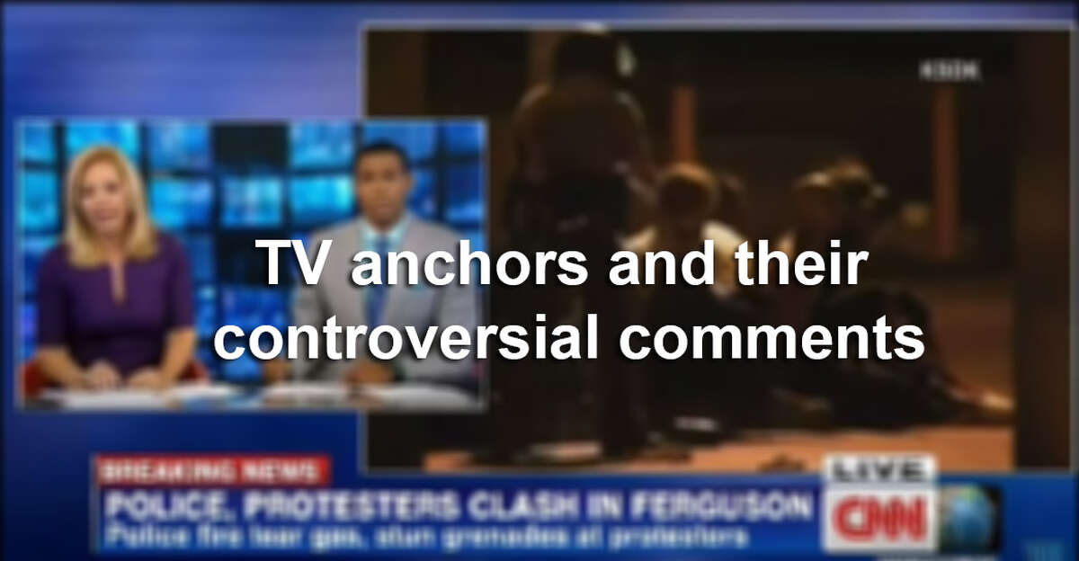 Click through the slideshow to see how some TV anchors have handled their controversial comments.