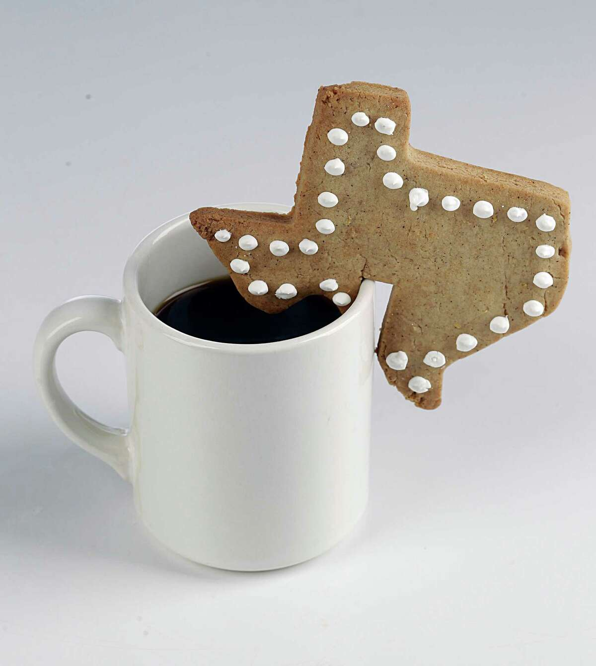 Scandinavian Rim cookies (the cookies are baked with a notch to hang on a coffee cup) Tuesday, Nov. 24, 2015, in Houston. ( James Nielsen / Houston Chronicle )