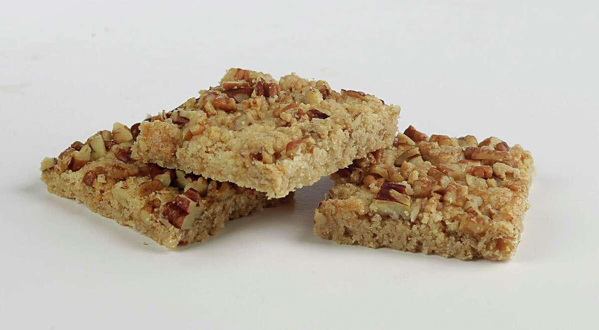 Cinnamon Nut Squares cookies Tuesday, Nov. 24, 2015, in Houston. ( James Nielsen / Houston Chronicle )