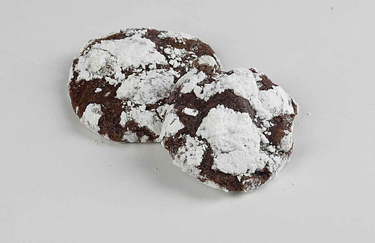Black Forest Crinkle cookies Tuesday, Nov. 24, 2015, in Houston. ( James Nielsen / Houston Chronicle )