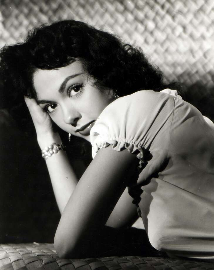 Photo of  Puerto Rican actress and singer Rita Moreno posed circa 1950. Photo: GAB Archive, Redferns