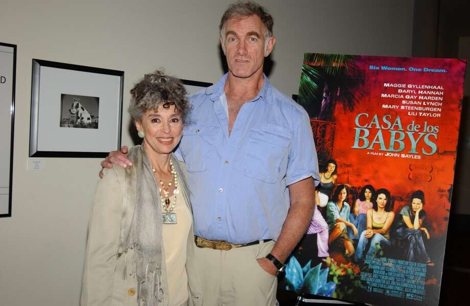 "Rita Moreno and John Sayles during A Special Screening of John Sayles ""Casa de los Babys"" at Archlight Theaters in Hollywood, California, United States. Photo: Maury Phillips Archive, WireImage"