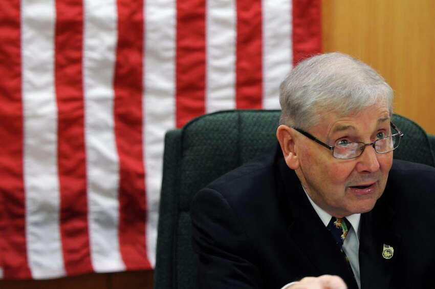 Thomas N. Wood, III, Tuesday Jan. 3, 2012 in Ballston Spa, N.Y, sits on the county's compensation committee. (Philip Kamrass / Times Union )