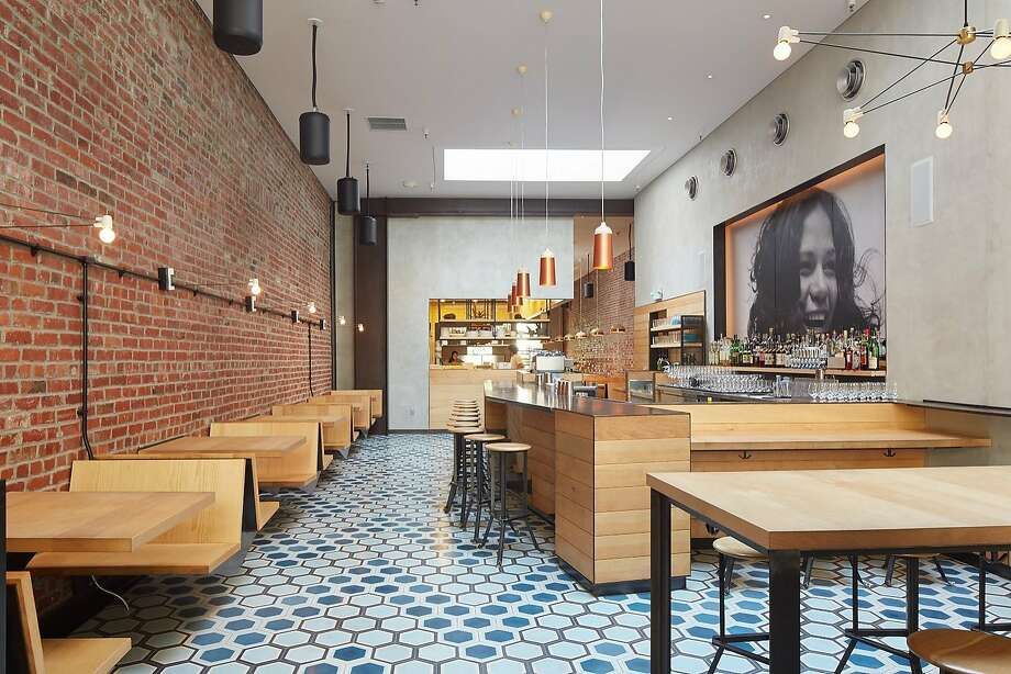 Liholiho Yacht Club, a Hawaiian heritage-driven concept from chef Ravi Kapur in lower Nob Hill, was designed by Brett Terpeluk. Photo: Bruce Del Monte