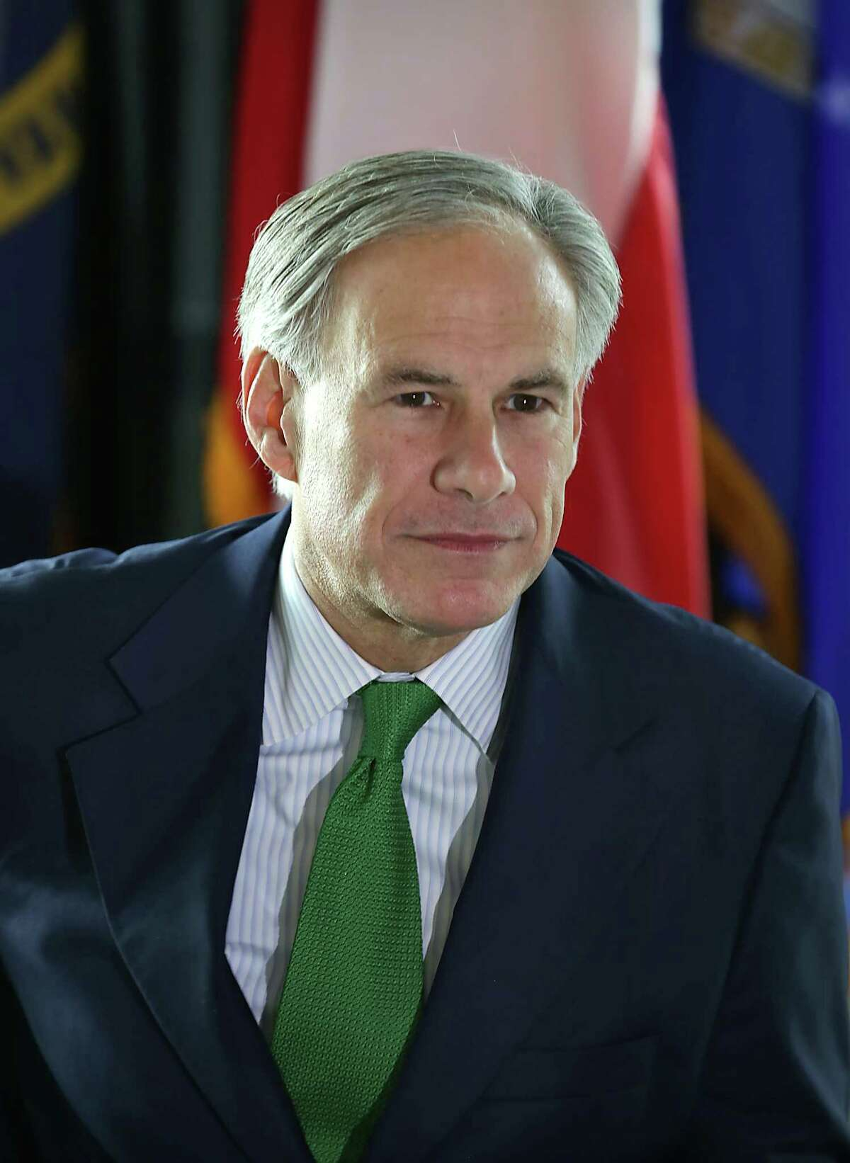 """Gov. Greg Abbott visits the Texas Workforce Commission's """"Hiring Red, White and You!"""" event on Thursday, Nov. 12, 2015 at the Alamodome in San Antonio. The event was also taking place in other Texas cities."""
