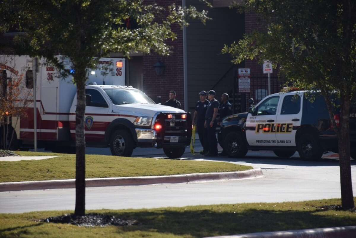 Gunmen opened fire on a man in his 30s at Woodlawn Ranch Apartment Homes at 330 W. Cheryl Drive on Dec. 8, 2015.