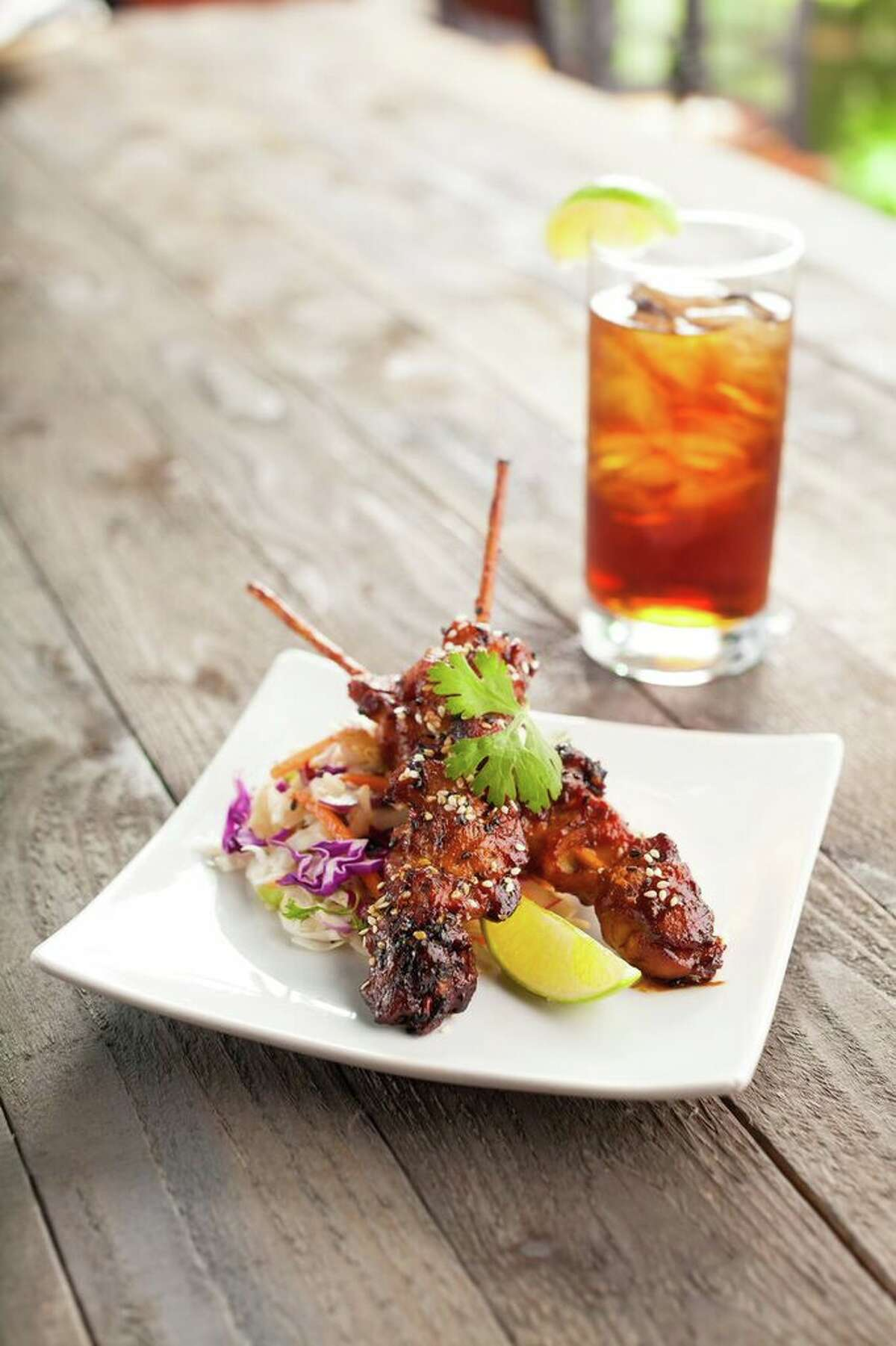 Mama Fu's Asian House opened it second Houston location on Dec. 7 at 12341 FM 1960 Rd W. Shown: Chicken satay.
