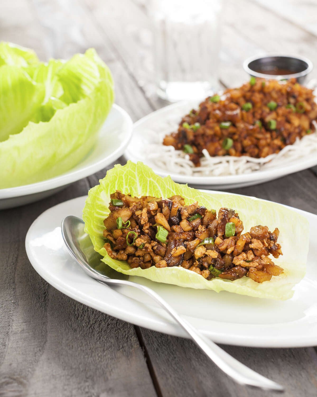 Mama Fu's Asian House opened it second Houston location on Dec. 7 at 12341 FM 1960 Rd W. Shown: Mama Fu's Lettuce Wraps.
