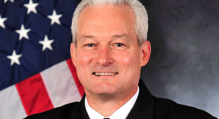 The Navy has disciplined Rear Adm. David F. Baucom for his drunken behavior at a Florida hotel in April. Photo: U.S. Navy