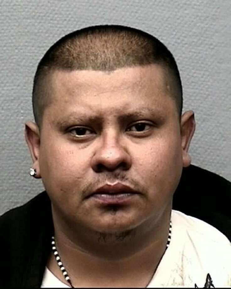 Anibal Antonio Guevara, 30, was one of threedocumented MS-13 gangmembers now behind bars on charges of murder, accused of gunning down a man last month. Photo: Houston Police Department